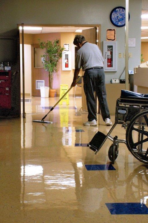 Proper Microfiber Procedure Leaves Clean Floors The