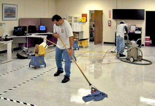 Periodic Floor Work Best To Include It In The Janitorial