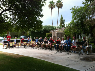 Trombone Choir July 4 2012